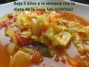 La dieta de la sopa milagrosa