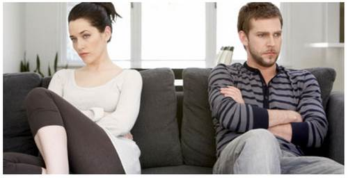 Discusiones en las parejas jovenes