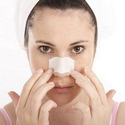 tiras para eliminar los puntos negros de la nariz
